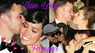 Justin Timberlake and beautiful wife Jessica Biel Timberlake - True Love Forever