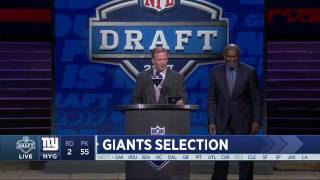 Giants Select DT Dalvin Tomlinson No. 55