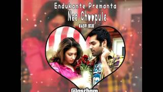 Ram - Endukante Premanta | Nee Choopule Instrumental | Telugu | Tamil | Whatsapp Status Video - ASR