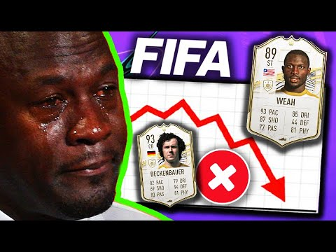 ALL ICONS REMOVED FROM FIFA 21!⚠️ |