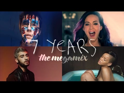 7 Years (The Megamix) – Miley Cyrus · Zayn · Justin Bieber & More (T10MO)
