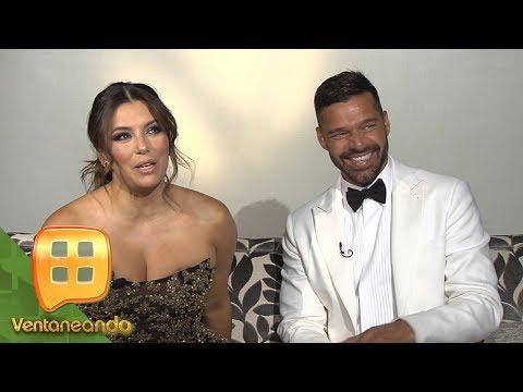 ¡Ricky Martin y Eva Longoria causan furor en México!