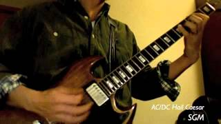 AC/DC Hail Caesar Guitar Cover / SGM