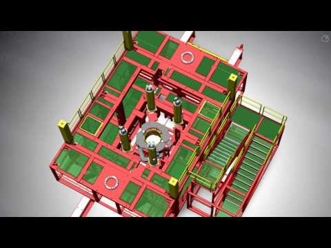 The Claxton WellRaizer modular conductor recovery system