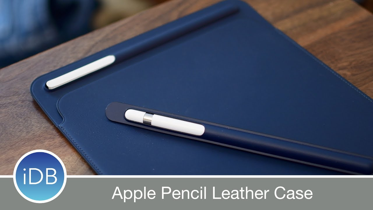 hot sale online 035a4 fe62c Apple's New Leather Case for Apple Pencil Prevents Rolling & Broken Tips