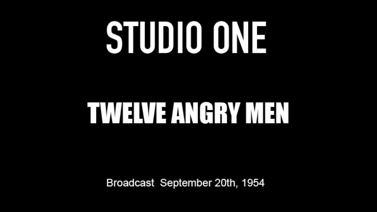 Download LIVE TV RESTORATION: Twelve Angry Men - Studio One (Original 1954 Broadcast)