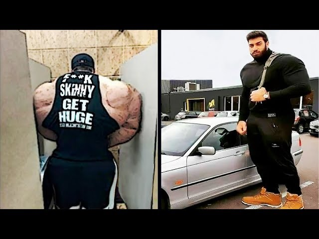 This Is What Happens When Bodybuilders Are in Public Places