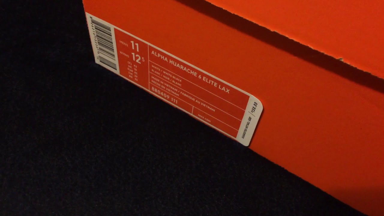Review on Nike Alpha Huarache 6 Elite Lax Cleat