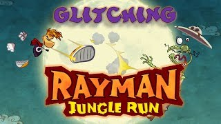 Glitching Rayman Jungle Run - Bugs & Glitches compilation