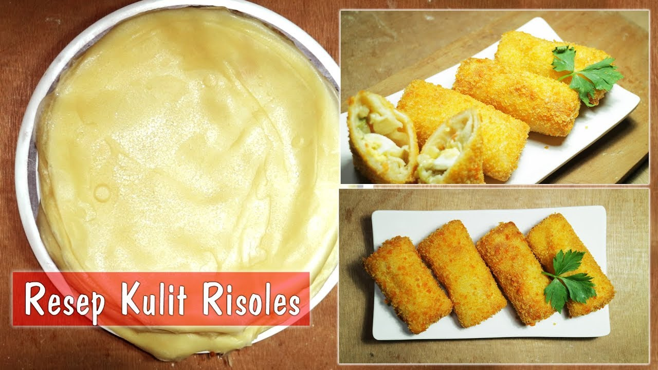 resep kulit risoles risol step by step dapur sekilas info