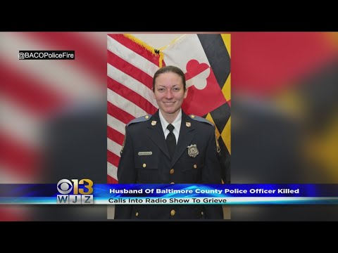 Husband Grieves After Baltimore County Police Officer Killed