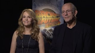 Lea Thompson & Christopher Lloyd On 'Back To The Future', Eric Stoltz, And Robert Zemeckis