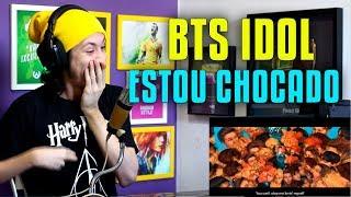 REAGINDO E ANALISANDO BTS (방탄소년단) 'IDOL' Official MV