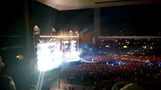 Cheek ft. Katri Helena - Puhelinlangat laulaa @ Olympiastadion 23.8.2014