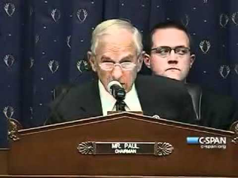 Ron Paul - Financial Services Committee - Federal Reserve Lending Disclosure -- June 1, 2011.MP4
