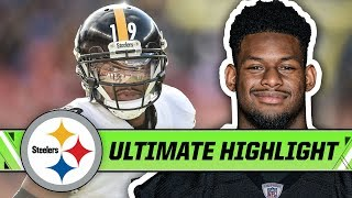 JuJu Smith-Schuster posted Career Numbers in 2018   Pittsburgh Steelers Ultimate Highlight