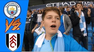 THAT WAS A GOOD 3 POINTS | MAN CITY 3 FULHAM 0 | MATCHDAY 5 | VLOG #58