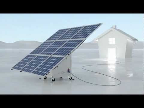 iKube Mobile Solar Energy
