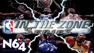 NBA In The Zone Series Review - Nintendo 64 - Ultra HDMI - HD
