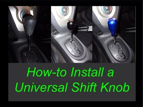 Universal Shift Knob Installation (How-to/DIY)