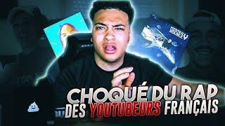 CHOQUÉ DU RAP DES YOUTUBEURS FRANÇAIS !!
