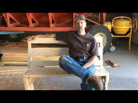 Episode 16 - Garden / Yard Bench  Short Version