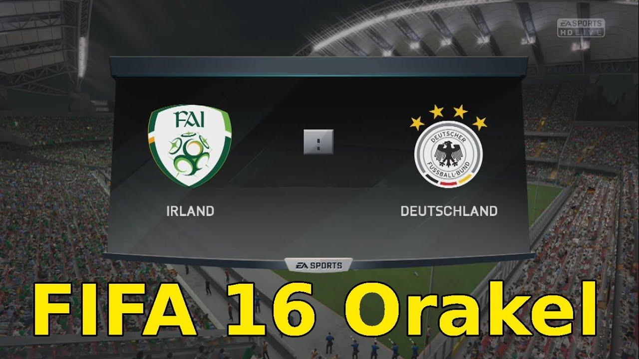 Deutschland Irland Em