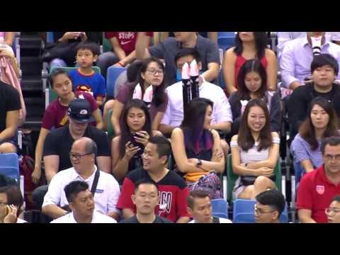 Singapore Slingers vs.Hong Kong Eastern Long Lions  | FULL GAME | 2016-2017 ASEAN Basketball League
