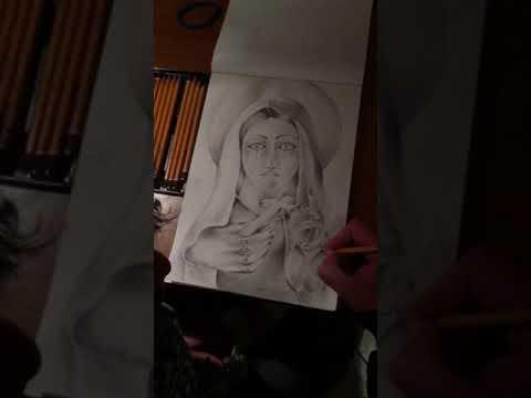 La Mia Arte Disegno Madonna Youtube