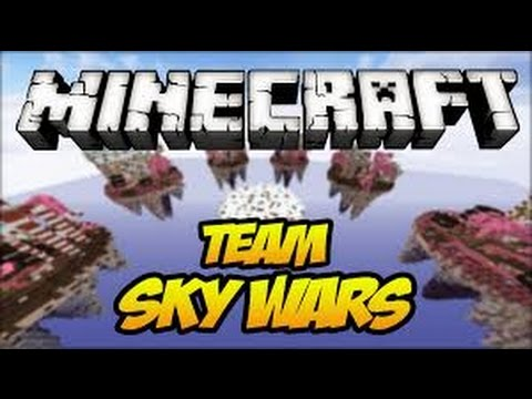 Minecraft SkyWars:WERE A GREAT TEAM!!!!! w/friends