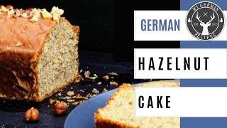 German Hazelnut Cake - Nusskuchen ✪ MyGerman.Recipes