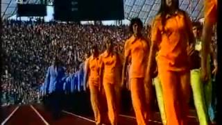Munich Summer Olympic Games 1972. Opening Ceremony Part 2