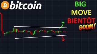 BITCOIN EXPLOSION EN APPROCHE !? btc analyse technique crypto monnaie