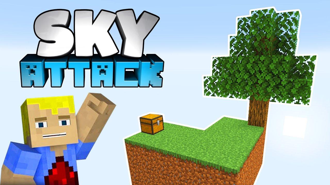 Download NEUES Projekt! Minecraft 1.17 Vanilla Skyblock - Minecraft SKY ATTACK #01