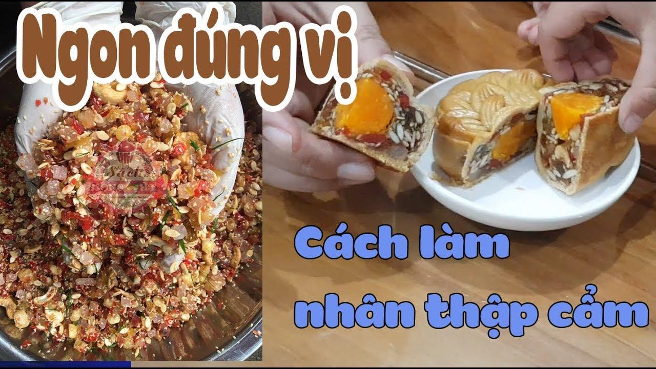 Cách làm nhân thập cẩm cho bánh trung thu ngon đúng vị - Món ngon dễ làm