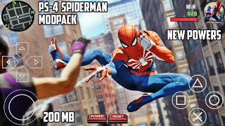 SPIDERMAN PS4 ANDROID [ 200 MB] |MODPACK FOR GTA SA ANDROID | NEW 2018 POWERS ,MOVES & SKINS | HD