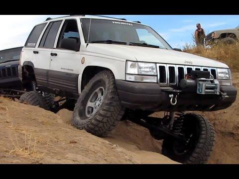 Jeep Grand Cherokee 4x4 Project ZJ RHD Full Width XJ 5.9 Limited ZJ Prairie City Long Arm Flexing