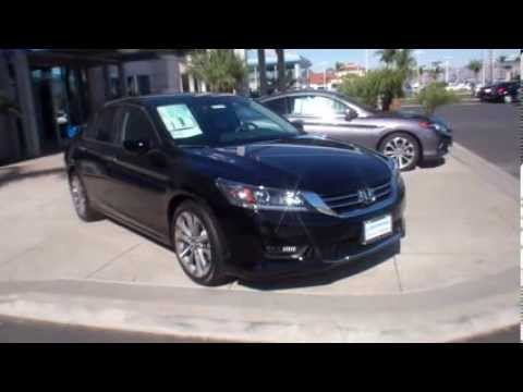 2014 Honda Accord Sport Crystal Black Pearl - YouTube