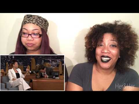 Alicia Keys Does Wheel of Musical Impressions Reaction!!!