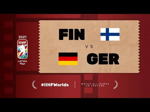 Highlights: FINLAND vs GERMANY   2021 #IIHFWorlds
