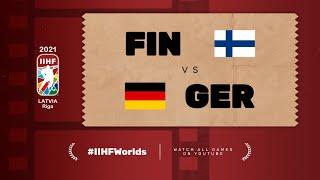 Highlights: FINLAND vs GERMANY | 2021 #IIHFWorlds