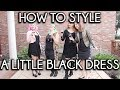 LITTLE BLACK DRESS STYLE GUIDE | Squad Styled