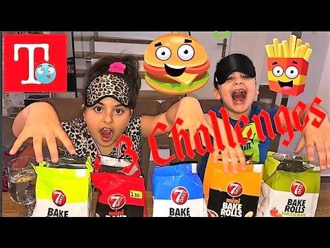 3 Challenges real food🏅💯3 προκλήσεις για τα παιδια !!!!!  greece greek athens ελληνικα famous toli