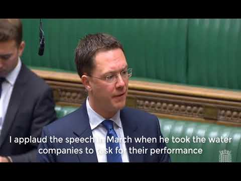 Condition of the River Windrush raised in Parliament with Environment Secretary, Michael Gove