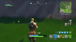 THE FURTHEST DEPARTURE OF FORTNITE (100% REAL) NO SCOPE ! 4124 METERS !!