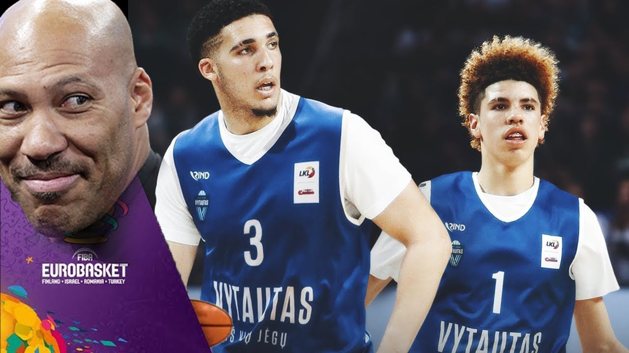 lamelo ball liangelo ball sign max contract to play pro ball in lithuania