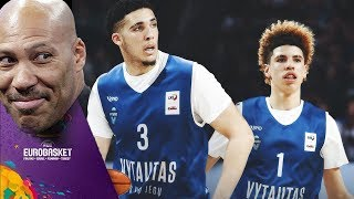 LaMelo Ball & LiAngelo Ball SIGN MAX CONTRACT TO PLAY PRO BALL in LITHUANIA 🇱🇹💰