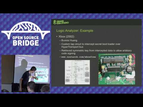 OSB 2015 - Open Source Tools of the Hardware Hacking Trade -