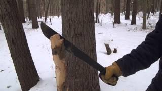 Ontario Field Machete 18 inch - Test