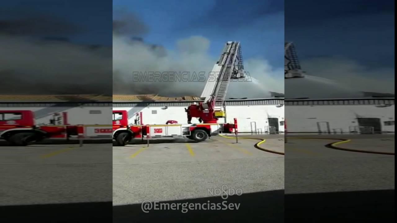 Incendio f brica ybarra en dos hermanas sevilla youtube - Lamparas dos hermanas ...